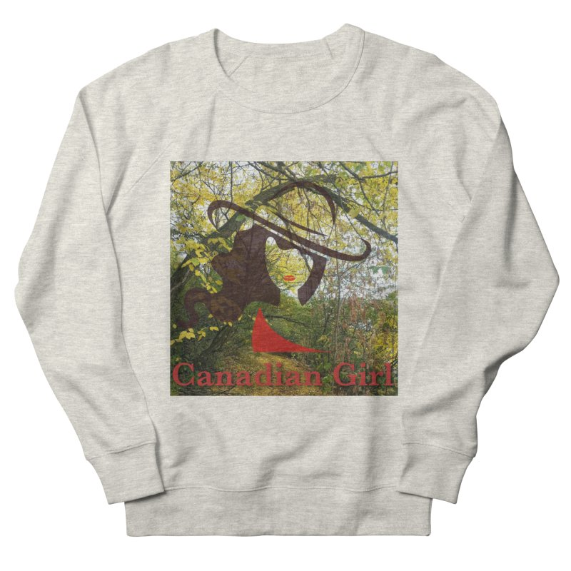 Canadian Girl -  Fall 2019 Men's French Terry Sweatshirt by The Nothing Canada Souvenir Shop
