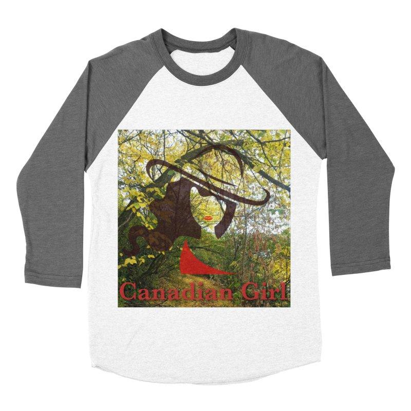 Canadian Girl -  Fall 2019 Men's Baseball Triblend Longsleeve T-Shirt by The Nothing Canada Souvenir Shop