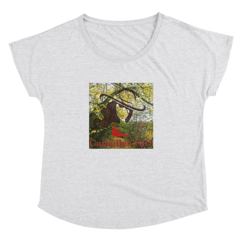 Canadian Girl -  Fall 2019 Women's Dolman Scoop Neck by The Nothing Canada Souvenir Shop