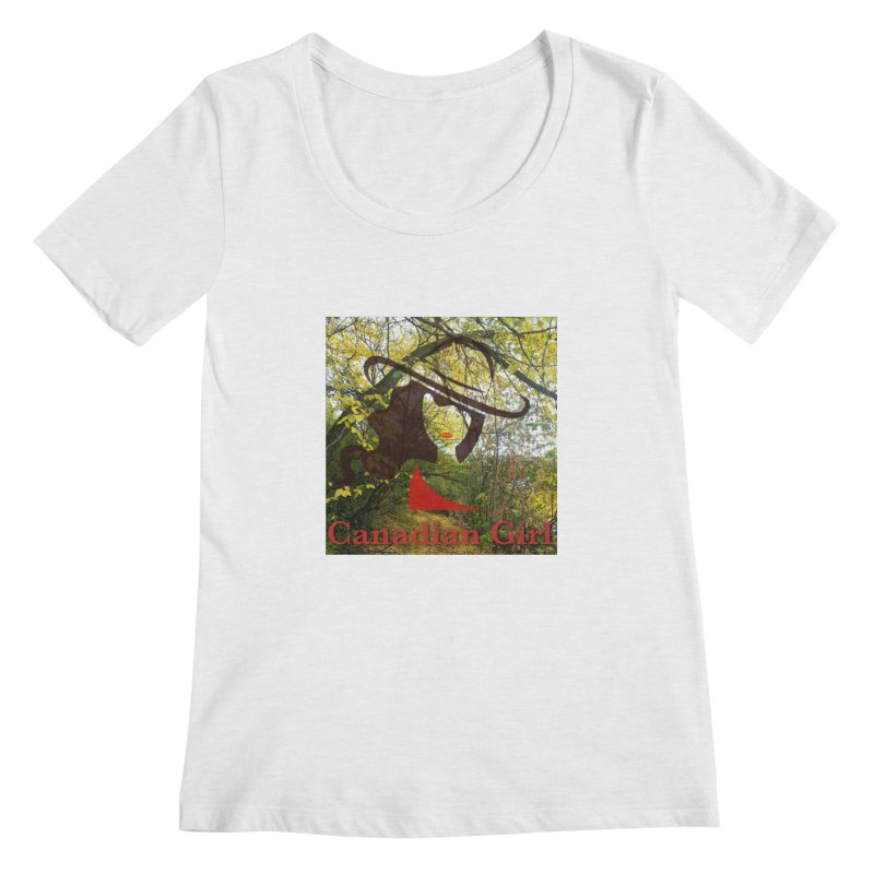 Canadian Girl -  Fall 2019 Women's Regular Scoop Neck by The Nothing Canada Souvenir Shop