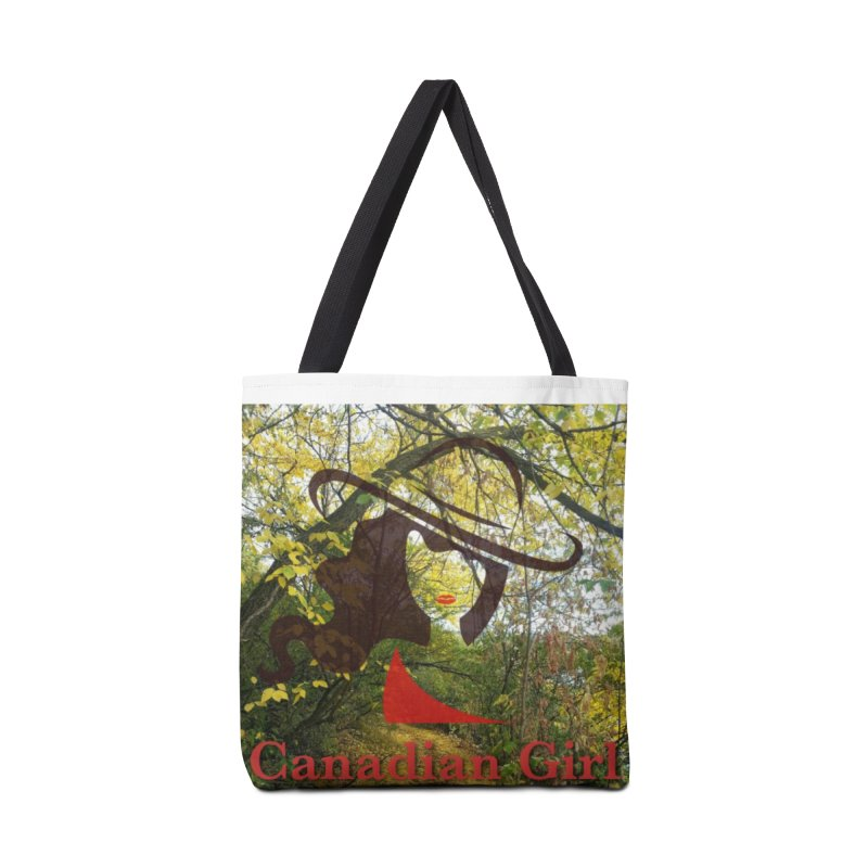 Canadian Girl -  Fall 2019 Accessories Tote Bag Bag by The Nothing Canada Souvenir Shop