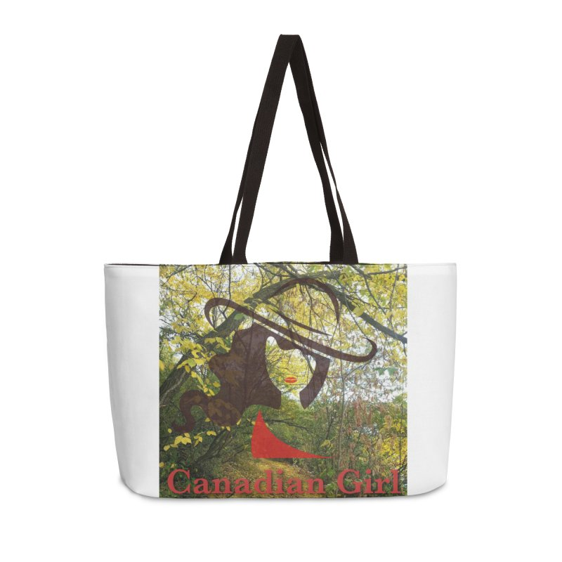 Canadian Girl -  Fall 2019 Accessories Weekender Bag Bag by The Nothing Canada Souvenir Shop