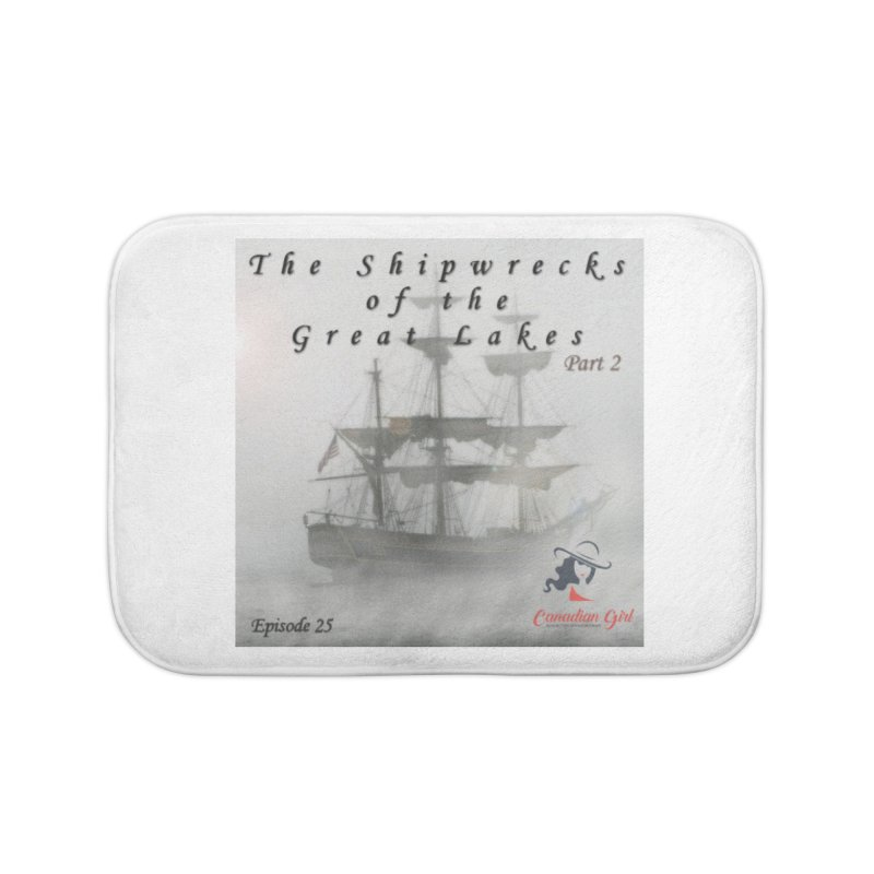 Shipwrecks of the Great Lakes - Part 2 Home Bath Mat by The Nothing Canada Souvenir Shop