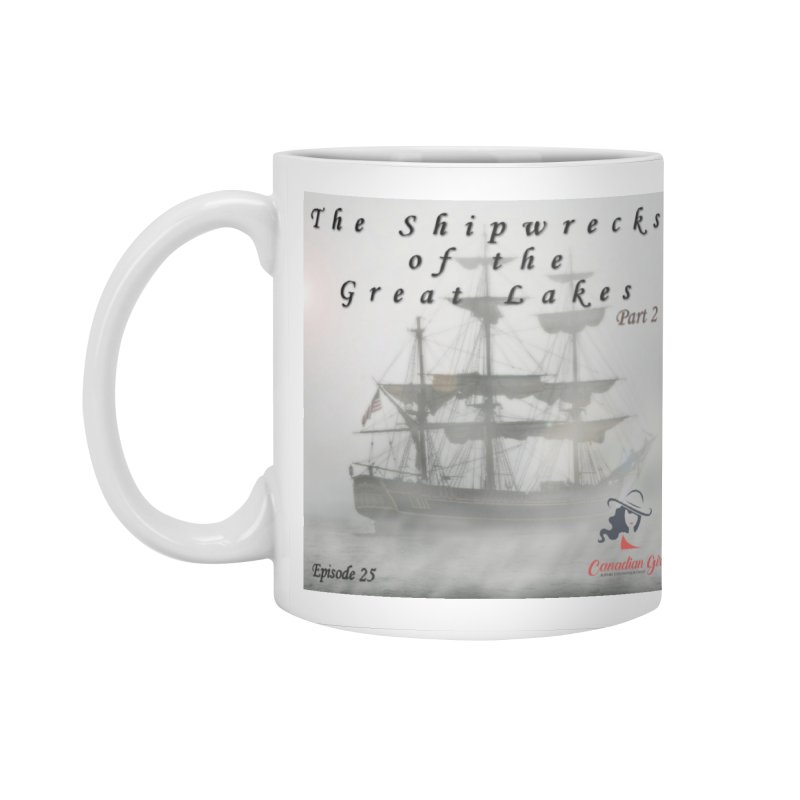 Shipwrecks of the Great Lakes - Part 2 Accessories Standard Mug by The Nothing Canada Souvenir Shop