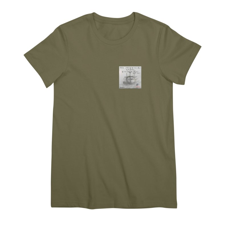 Shipwrecks of the Great Lakes - Part 2 Women's Premium T-Shirt by The Nothing Canada Souvenir Shop