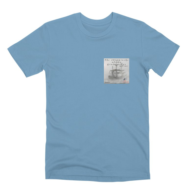 Shipwrecks of the Great Lakes - Part 2 Men's Premium T-Shirt by The Nothing Canada Souvenir Shop
