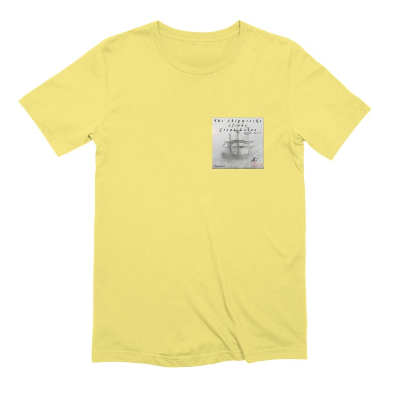 Shipwrecks of the Great Lakes - Part 2 Men's Extra Soft T-Shirt by The Nothing Canada Souvenir Shop