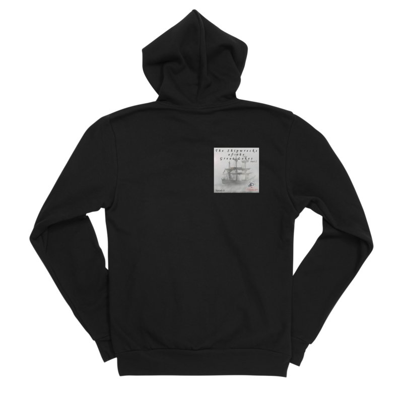 Shipwrecks of the Great Lakes - Part 2 Women's Sponge Fleece Zip-Up Hoody by The Nothing Canada Souvenir Shop