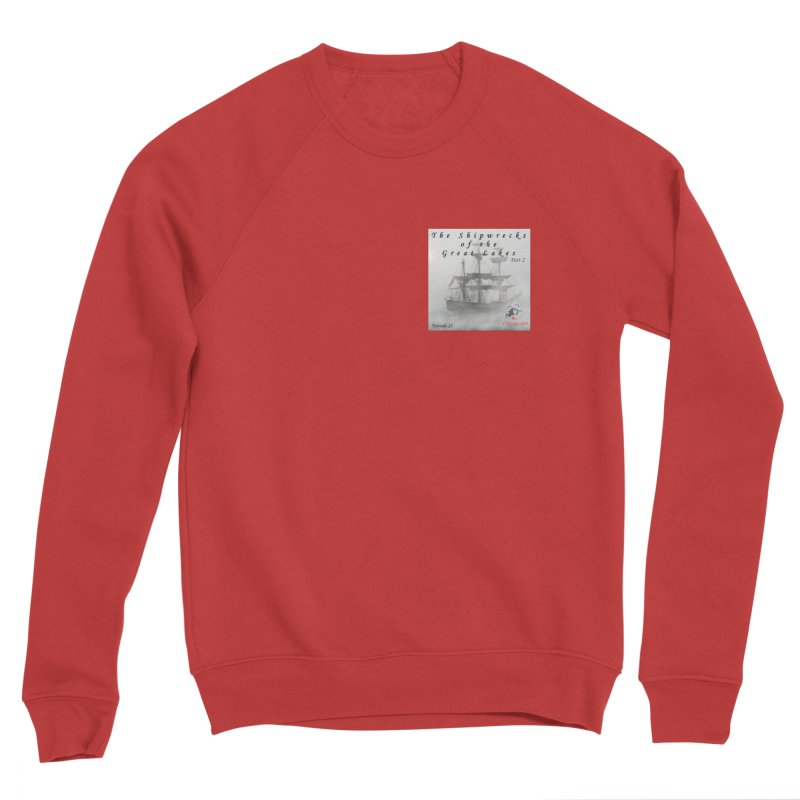 Shipwrecks of the Great Lakes - Part 2 Men's Sponge Fleece Sweatshirt by The Nothing Canada Souvenir Shop