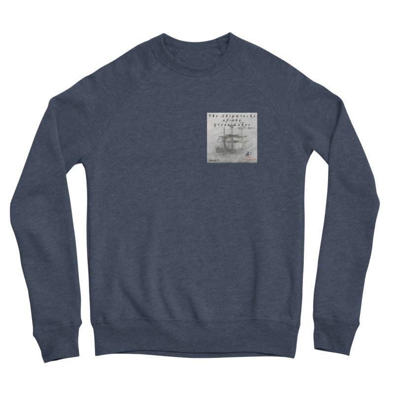 Shipwrecks of the Great Lakes - Part 2 Women's Sponge Fleece Sweatshirt by The Nothing Canada Souvenir Shop