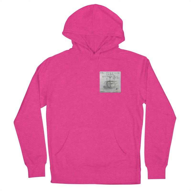 Shipwrecks of the Great Lakes - Part 2 Women's French Terry Pullover Hoody by The Nothing Canada Souvenir Shop
