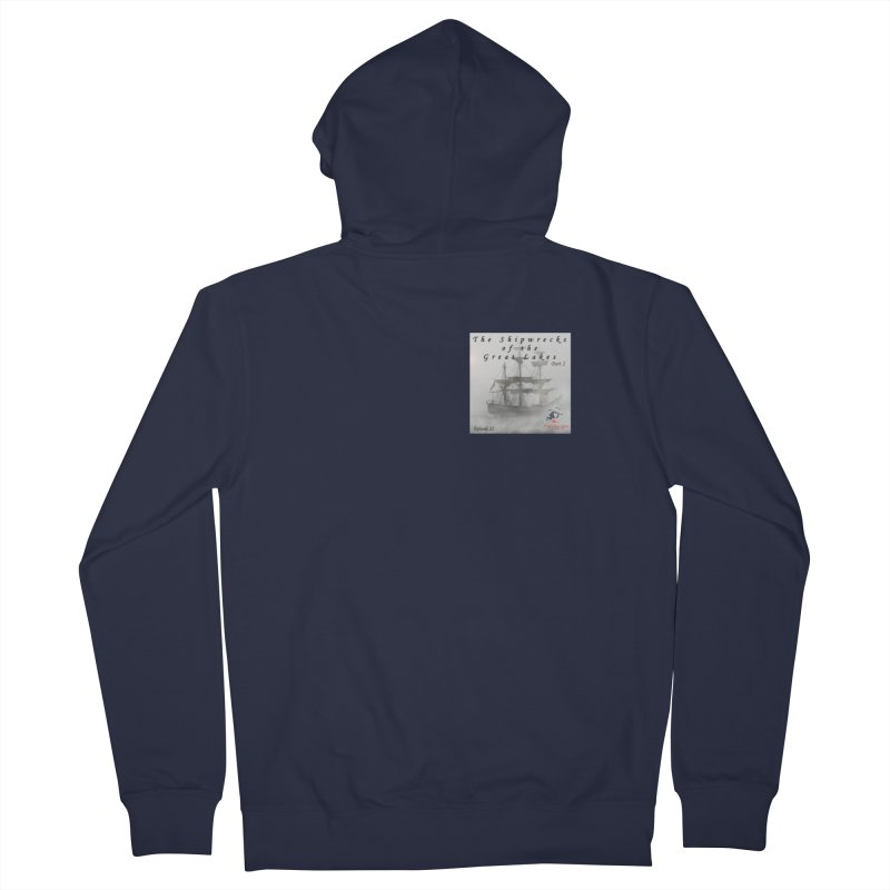 Shipwrecks of the Great Lakes - Part 2 Women's French Terry Zip-Up Hoody by The Nothing Canada Souvenir Shop