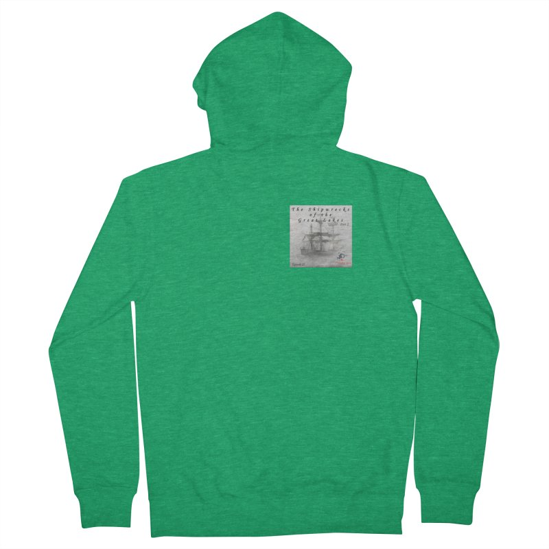 Shipwrecks of the Great Lakes - Part 2 Men's Zip-Up Hoody by The Nothing Canada Souvenir Shop