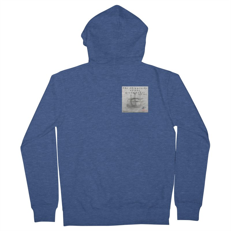 Shipwrecks of the Great Lakes - Part 2 Men's French Terry Zip-Up Hoody by The Nothing Canada Souvenir Shop