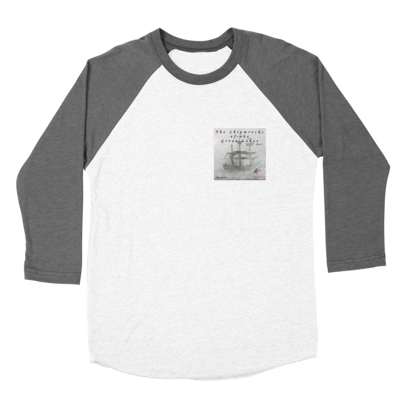 Shipwrecks of the Great Lakes - Part 2 Women's Baseball Triblend Longsleeve T-Shirt by The Nothing Canada Souvenir Shop