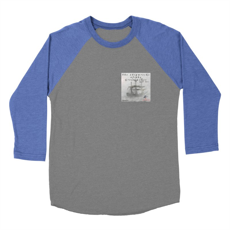 Shipwrecks of the Great Lakes - Part 2 Men's Baseball Triblend Longsleeve T-Shirt by The Nothing Canada Souvenir Shop