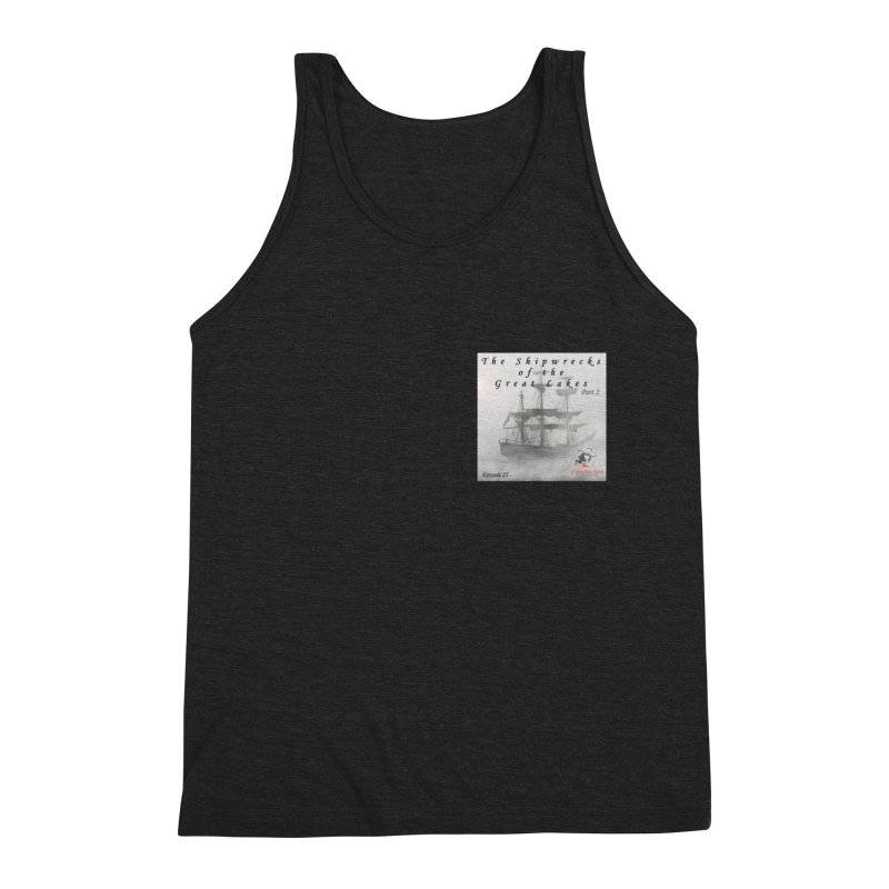 Shipwrecks of the Great Lakes - Part 2 Men's Triblend Tank by The Nothing Canada Souvenir Shop