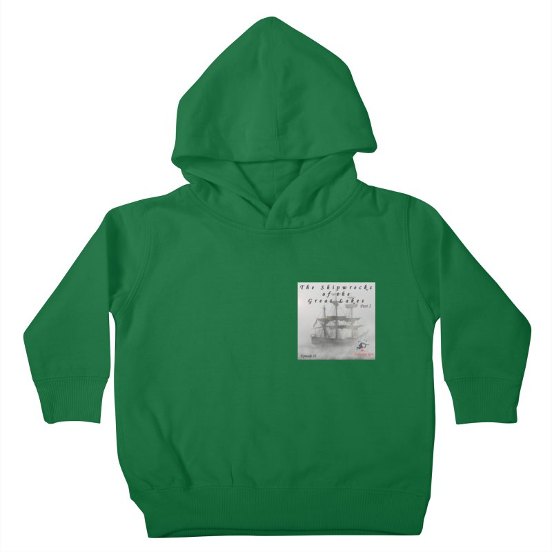 Shipwrecks of the Great Lakes - Part 2 Kids Toddler Pullover Hoody by The Nothing Canada Souvenir Shop
