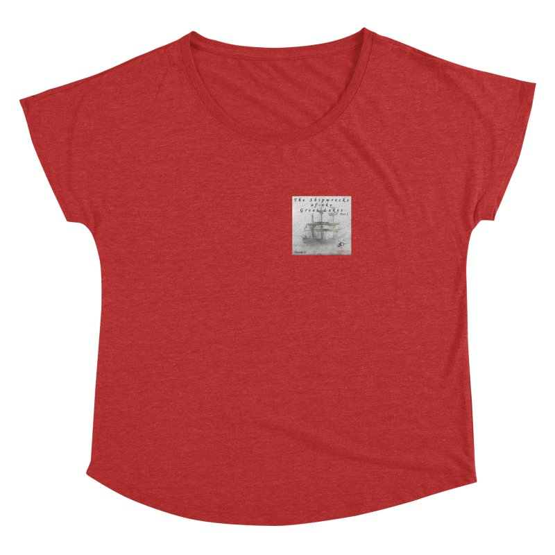 Shipwrecks of the Great Lakes - Part 2 Women's Dolman Scoop Neck by The Nothing Canada Souvenir Shop