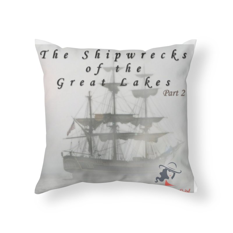 Shipwrecks of the Great Lakes - Part 2 Home Throw Pillow by The Nothing Canada Souvenir Shop