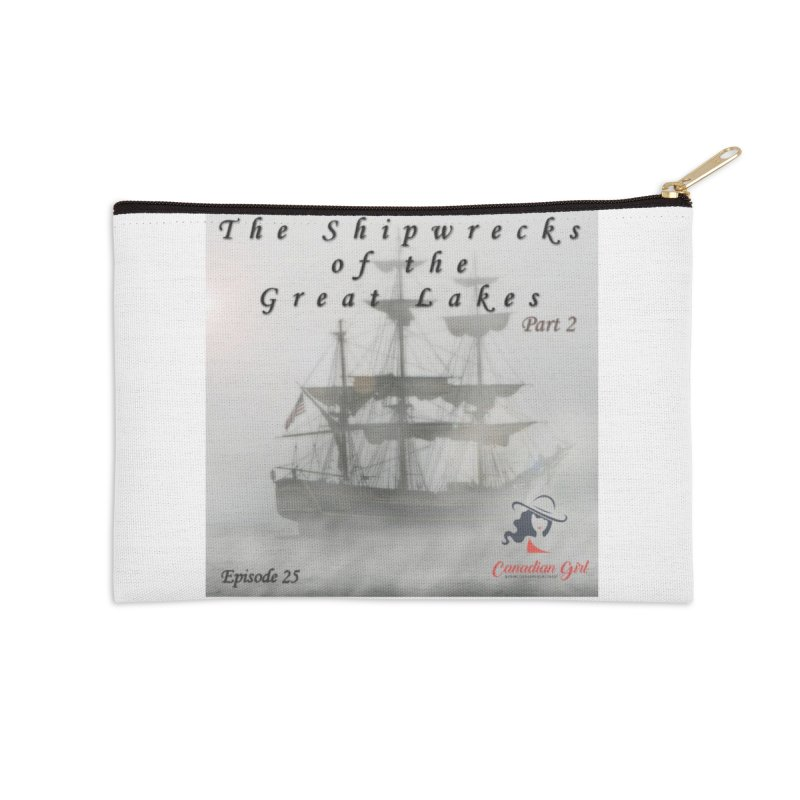 Shipwrecks of the Great Lakes - Part 2 Accessories Zip Pouch by The Nothing Canada Souvenir Shop