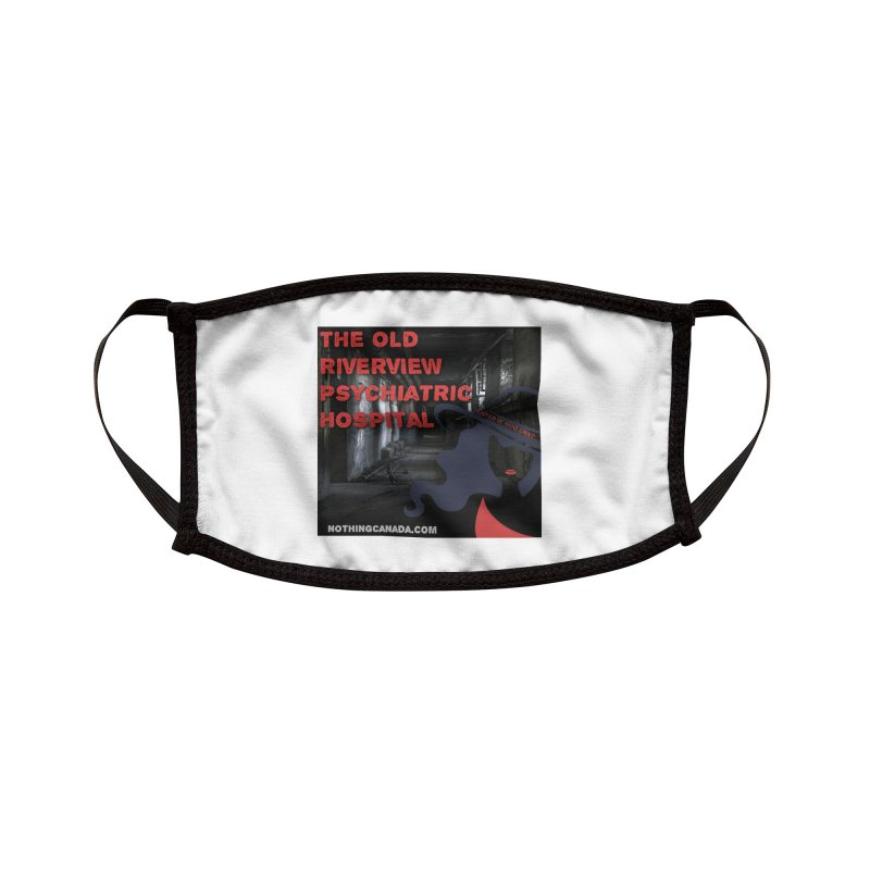Enter If You Dare... Accessories Face Mask by The Nothing Canada Souvenir Shop