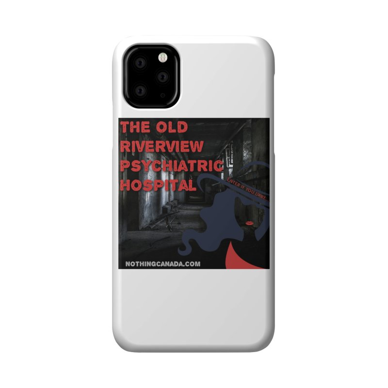 Enter If You Dare... Accessories Phone Case by The Nothing Canada Souvenir Shop