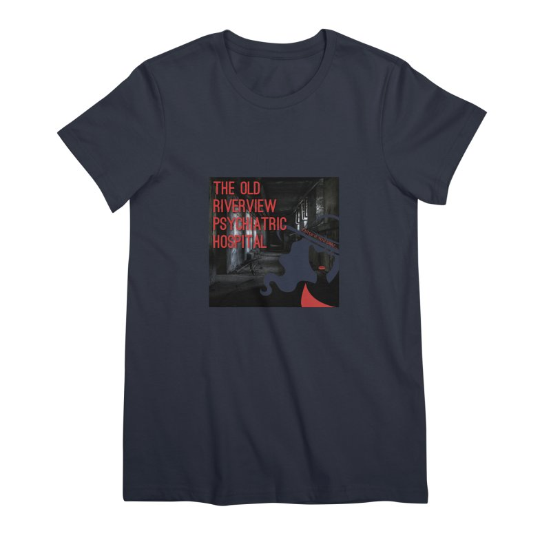 Enter If You Dare... Women's Premium T-Shirt by The Nothing Canada Souvenir Shop