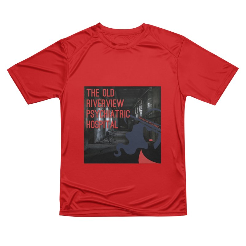 Enter If You Dare... Women's Performance Unisex T-Shirt by The Nothing Canada Souvenir Shop