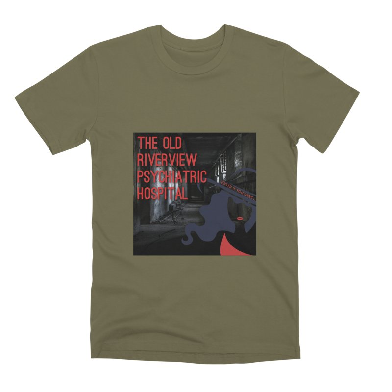 Enter If You Dare... Men's Premium T-Shirt by The Nothing Canada Souvenir Shop