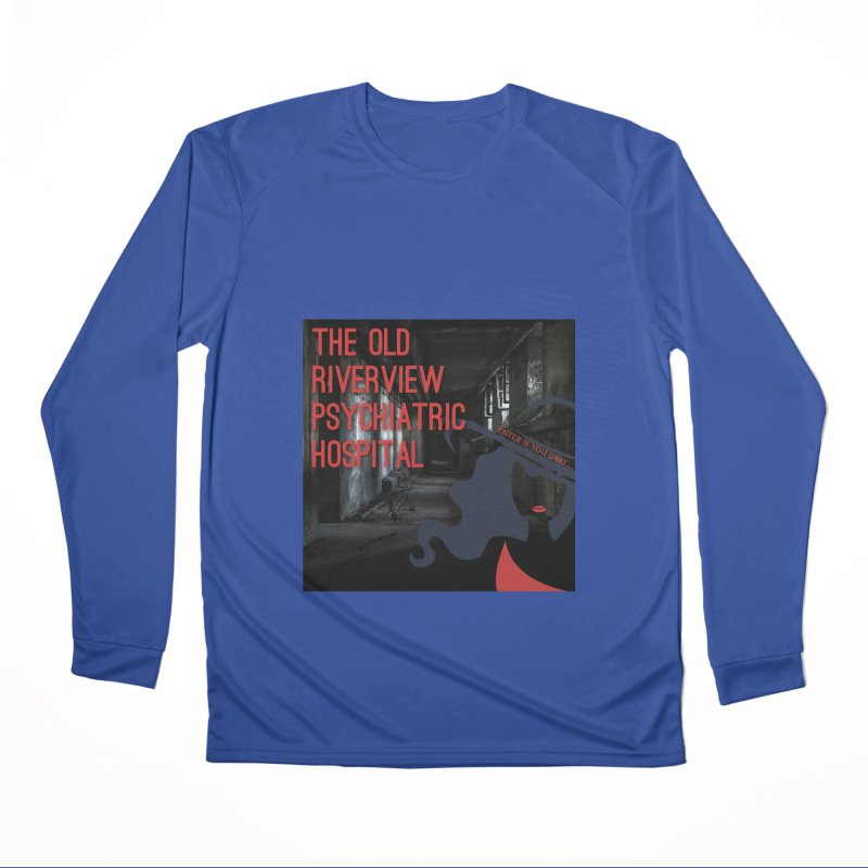 Enter If You Dare... Women's Performance Unisex Longsleeve T-Shirt by The Nothing Canada Souvenir Shop