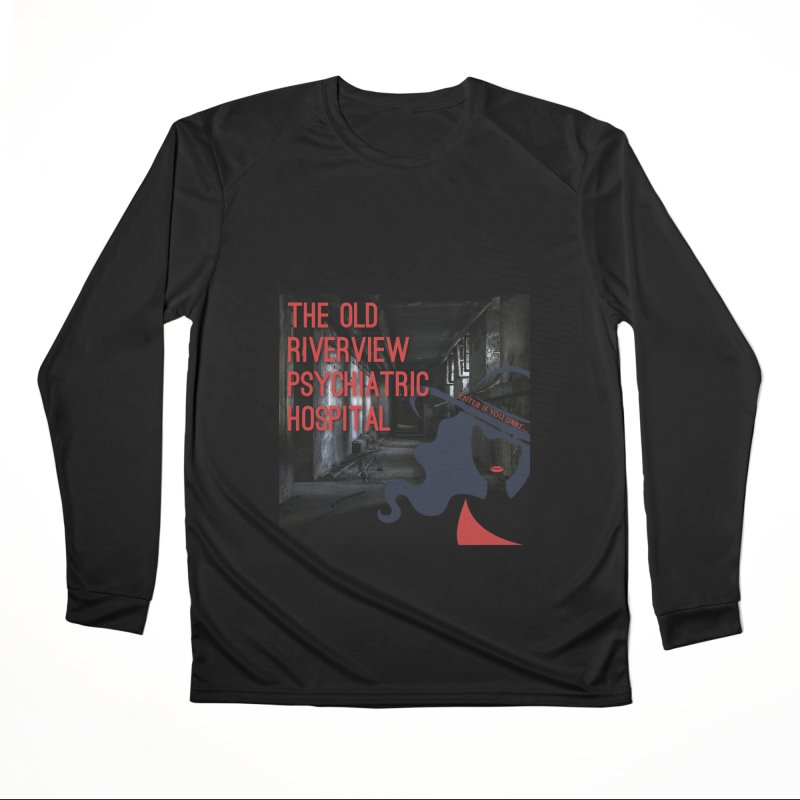 Enter If You Dare... Men's Performance Longsleeve T-Shirt by The Nothing Canada Souvenir Shop