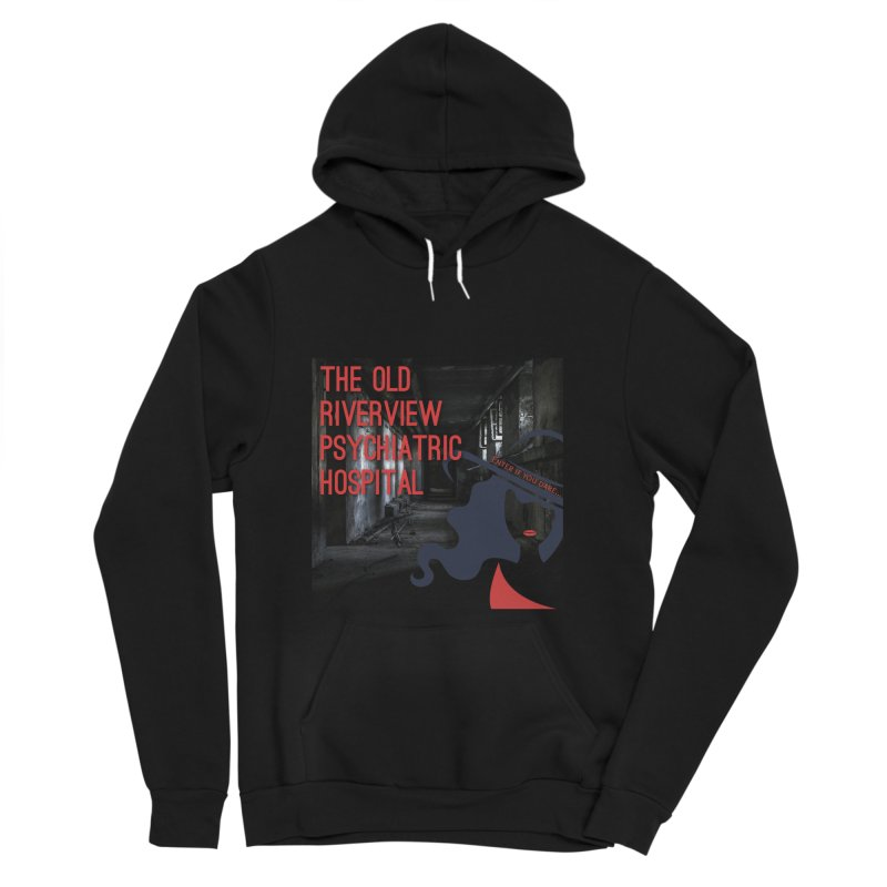 Enter If You Dare... Men's Sponge Fleece Pullover Hoody by The Nothing Canada Souvenir Shop