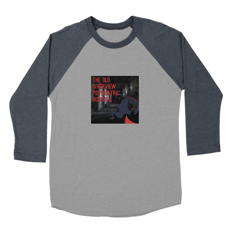 Enter If You Dare... Men's Baseball Triblend Longsleeve T-Shirt by The Nothing Canada Souvenir Shop