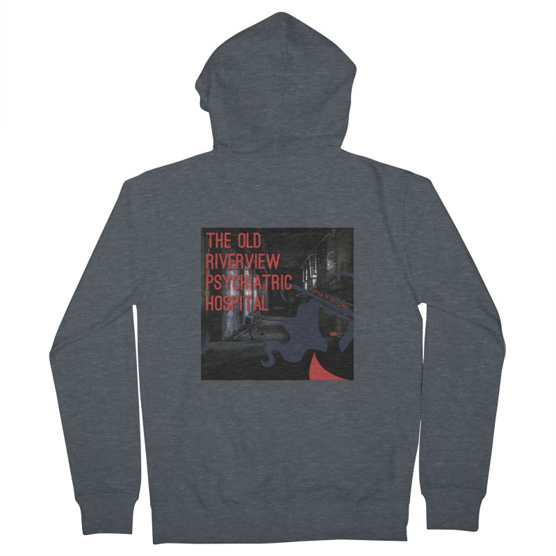 Enter If You Dare... Women's French Terry Zip-Up Hoody by The Nothing Canada Souvenir Shop