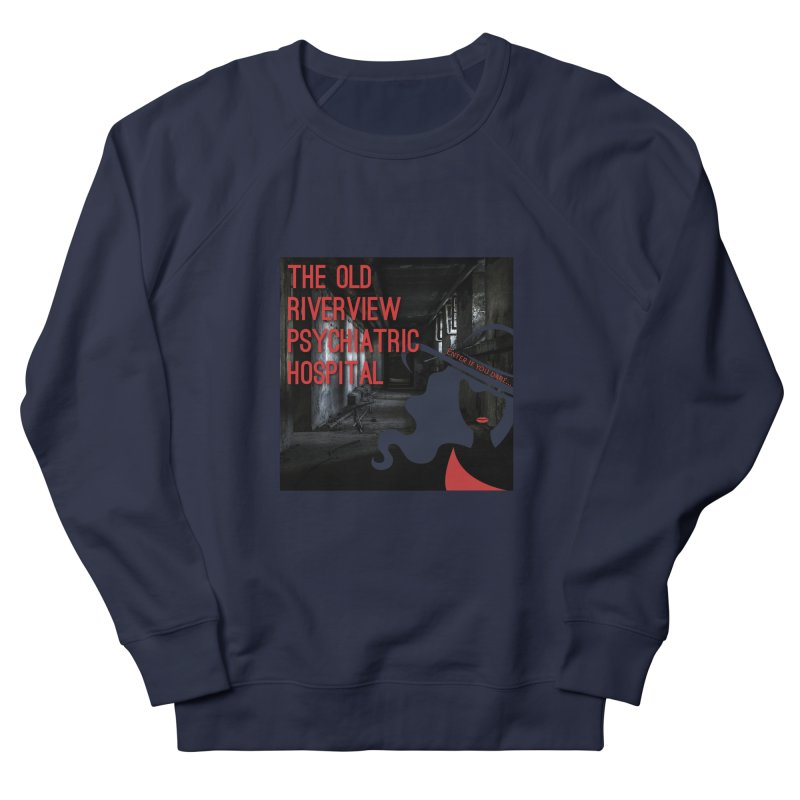 Enter If You Dare... Women's French Terry Sweatshirt by The Nothing Canada Souvenir Shop