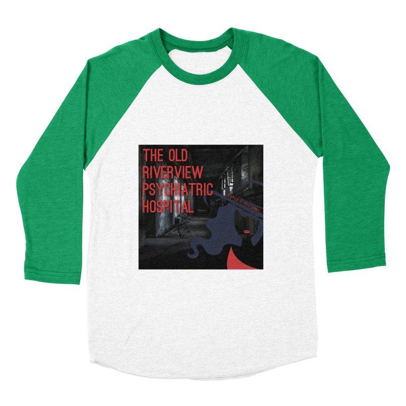 Enter If You Dare... Women's Baseball Triblend Longsleeve T-Shirt by The Nothing Canada Souvenir Shop