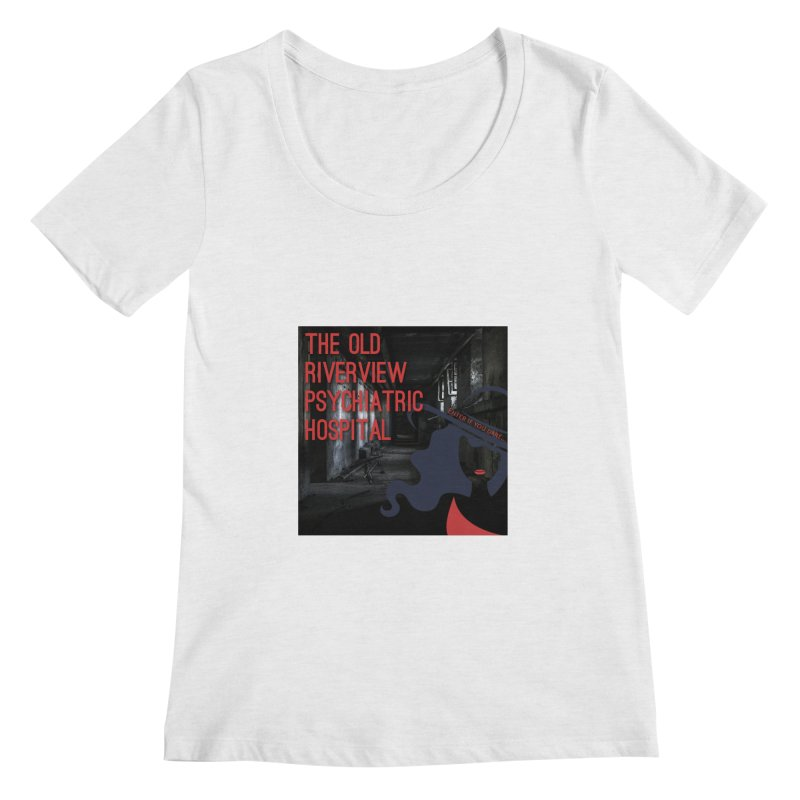 Enter If You Dare... Women's Regular Scoop Neck by The Nothing Canada Souvenir Shop