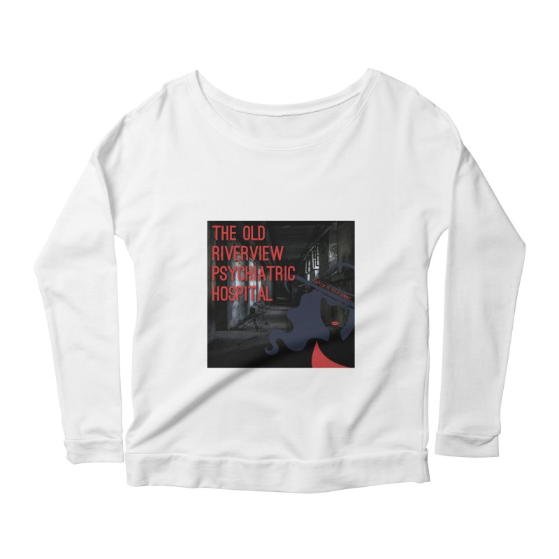 Enter If You Dare... Women's Scoop Neck Longsleeve T-Shirt by The Nothing Canada Souvenir Shop