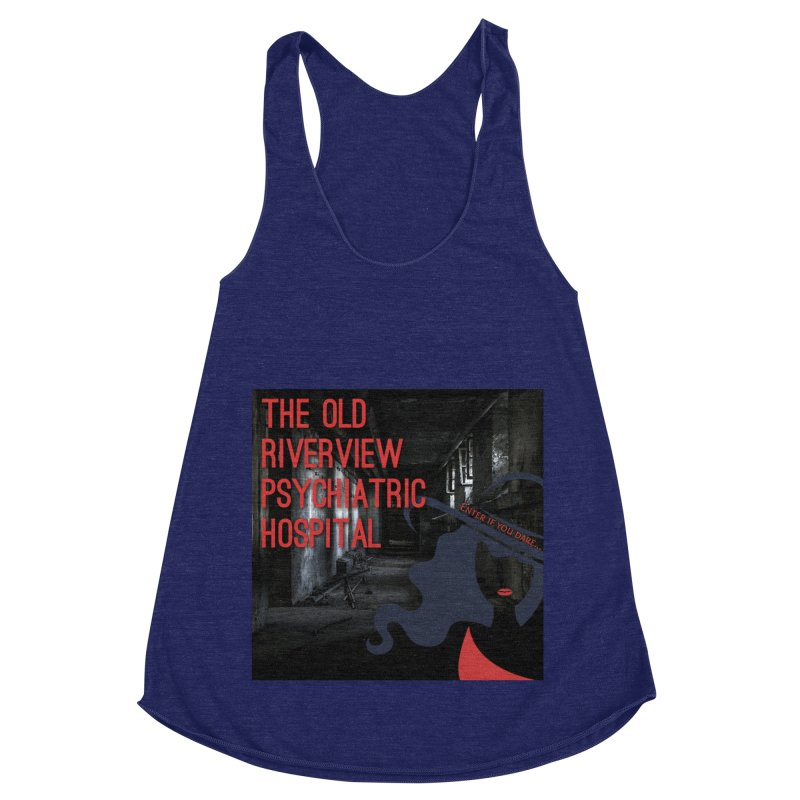 Enter If You Dare... Women's Racerback Triblend Tank by The Nothing Canada Souvenir Shop