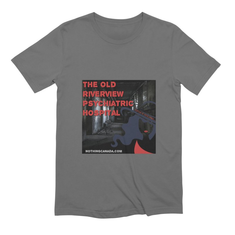 Enter If You Dare... Men's T-Shirt by The Nothing Canada Souvenir Shop