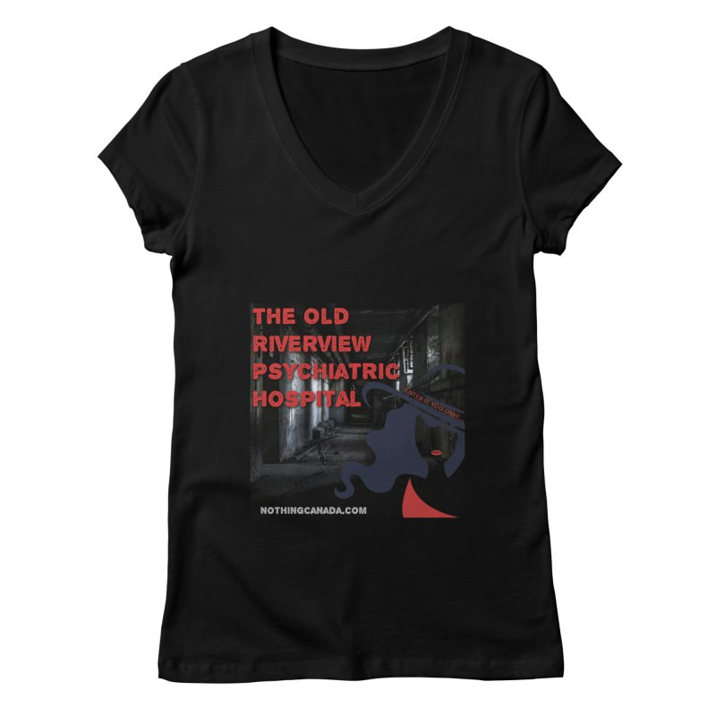Enter If You Dare... Women's V-Neck by The Nothing Canada Souvenir Shop