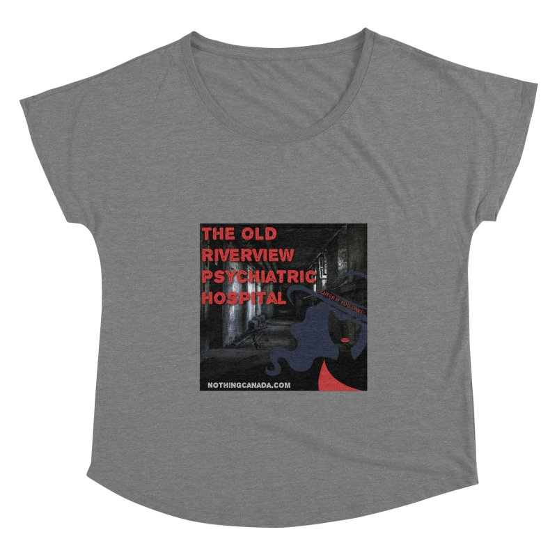 Enter If You Dare... Women's Scoop Neck by The Nothing Canada Souvenir Shop