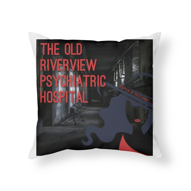 Enter If You Dare... Home Throw Pillow by The Nothing Canada Souvenir Shop