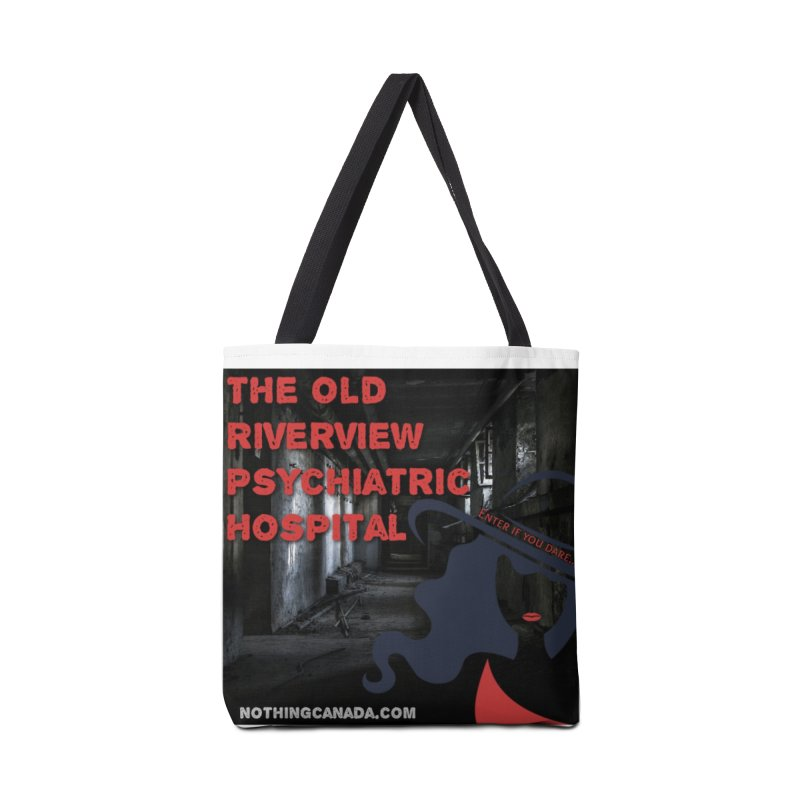 Enter If You Dare... Accessories Bag by The Nothing Canada Souvenir Shop