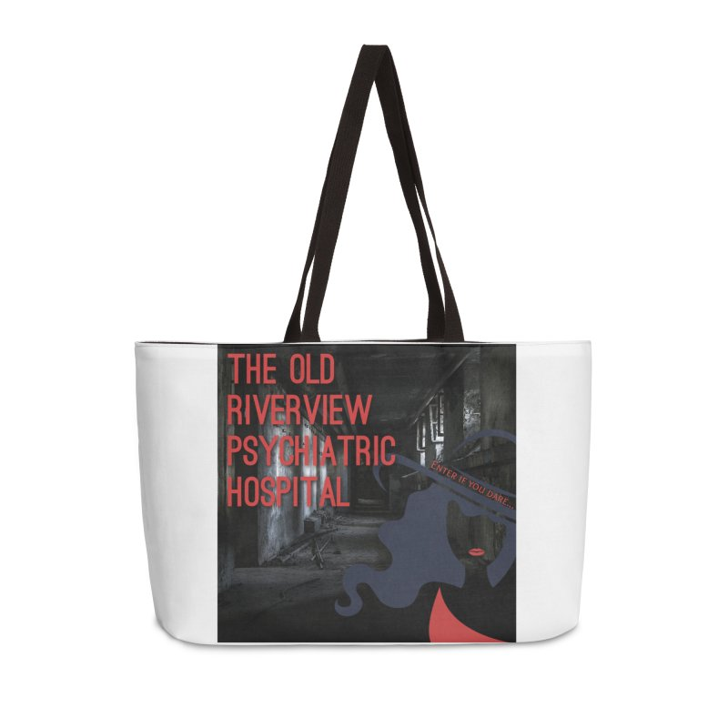 Enter If You Dare... Accessories Weekender Bag Bag by The Nothing Canada Souvenir Shop