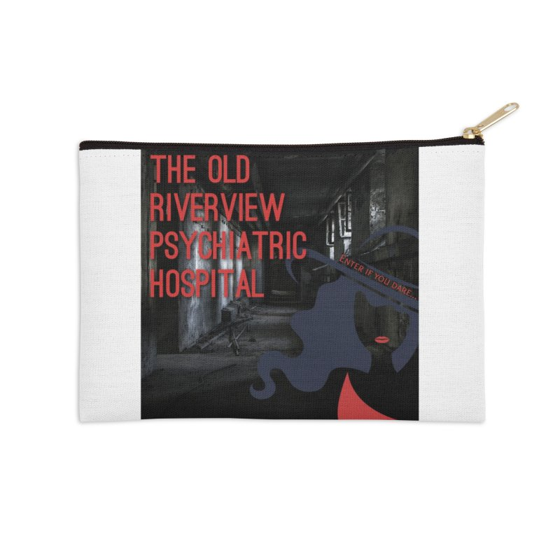 Enter If You Dare... Accessories Zip Pouch by The Nothing Canada Souvenir Shop