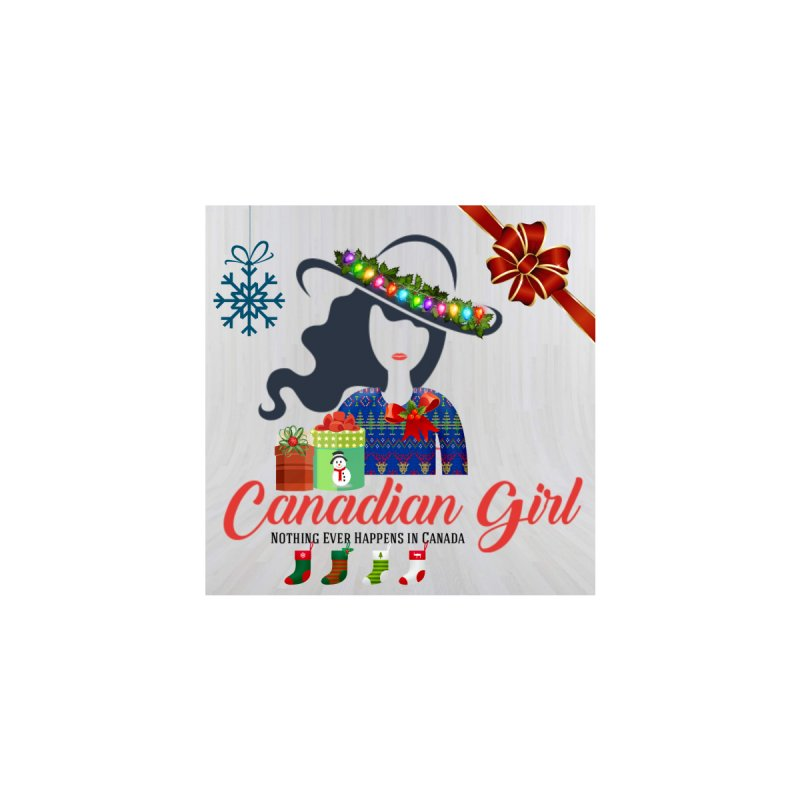 Holiday Canadian Girl by The Nothing Canada Souvenir Shop