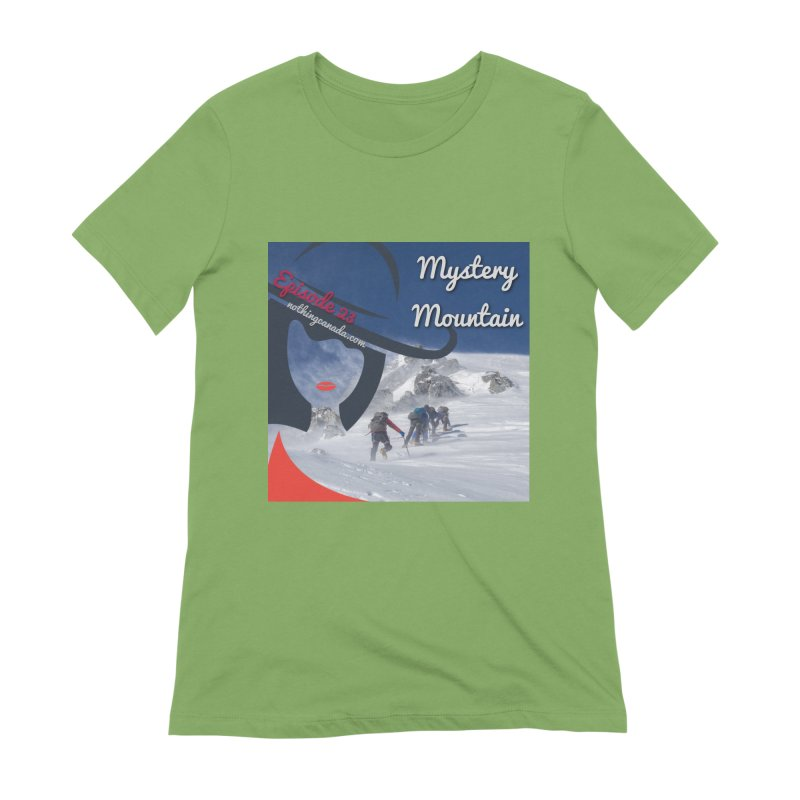 Mystery Mountain Women's Extra Soft T-Shirt by The Nothing Canada Souvenir Shop