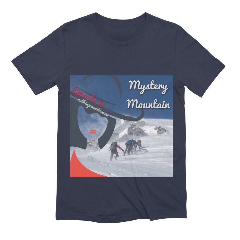 Mystery Mountain Men's Extra Soft T-Shirt by The Nothing Canada Souvenir Shop